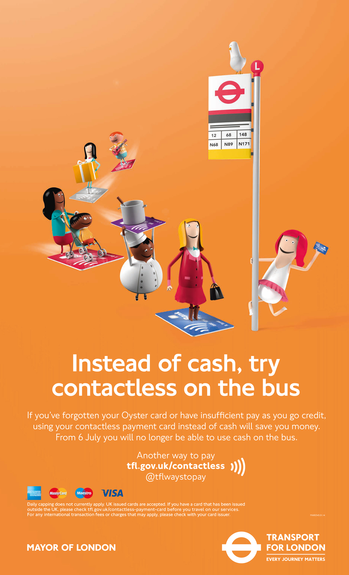 More about contactless
